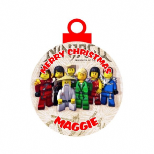 Lego Ninjago Acrylic Christmas Ornament Decoration